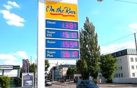 Preismast Tankstelle