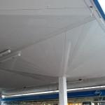 Reparatur Dachunterseite